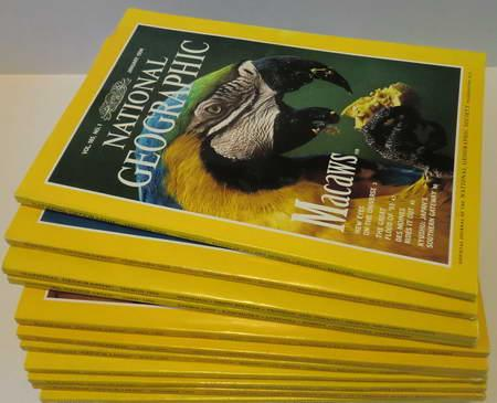 12 Englische Hefte: National Geographic Vol. 185: National Geographic Society