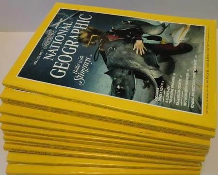 12 Englische Hefte: National Geographic Vol. 175: National Geographic Society