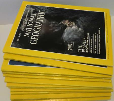 12 Englische Hefte: National Geographic Vol. 167: National Geographic Society