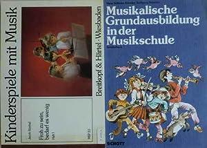 2 Musikbücher: Musikalische Grundausbildung in der Musikschule.: Köneke, Hans Wilhelm