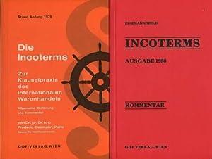 2 Bücher: Incoterms Kommentar Ausgabe 1980 /: Eisemann, Frédéric /