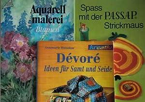 3 Hobby-Bücher: Spass mit der Passap Strickmaus: Buchwald, Karin /