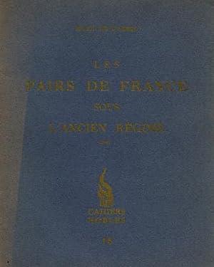 Les Pairs de France sous L'Ancien Régime: de Warren, Raoul