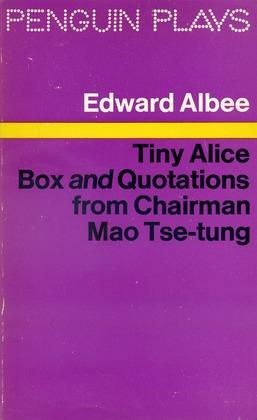Tiny Alice Box and Quotations from Chairman: Albee, Edward