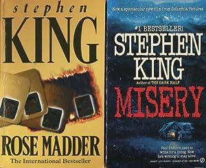 2 Bücher: Misery / Rose Madder: King, Stephen