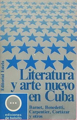 Literatura y arte nuevo en Cuba: Benedetti, Mario /