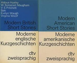 2 Bücher: Modern British Short Stories. Moderne: Huxley, Aldous /