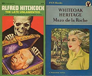2 Englische Bücher: The Late Unlamented and: Hitchcock, Alfred /