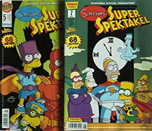 2 Comics: Simpsons Super Spektakel Nr. 5 / Simpsons Super Spektakel Nr. 7