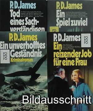 4 Krimis: Ein reizender Job für eine: James, P. D.