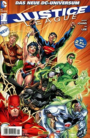 Das neue DC-Universum. 1 Justice League Jul 2012 (Batman)
