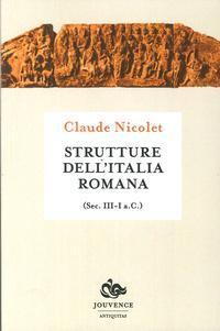 Strutture dell'Italia romana. Sec. III-I a.C.: Nicolet, Claude