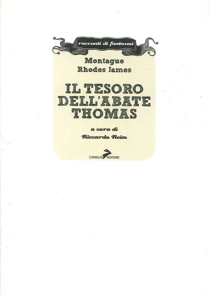 Il tesoro dell'abate Thomas - James, Montague R