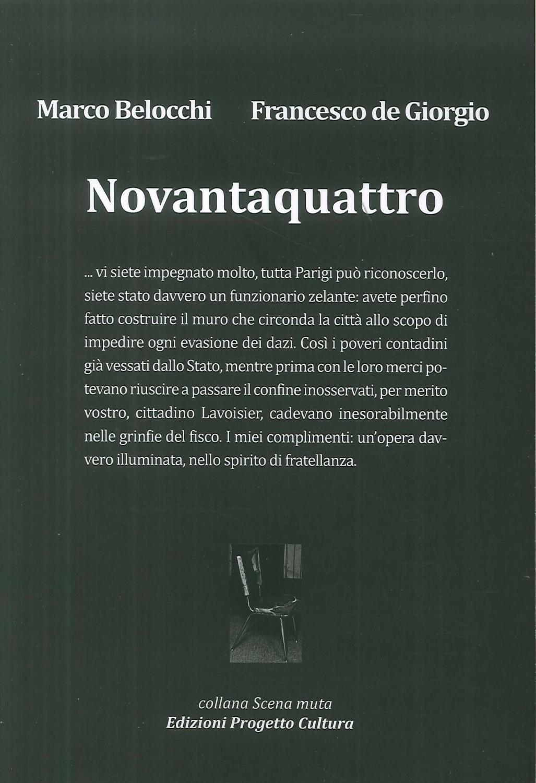 Novantaquattro - Belocchi Marco De Giorgio Francesco