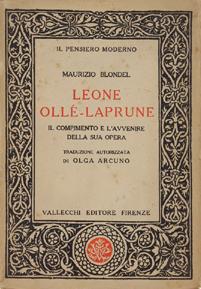 Leone Ollé-Laprune. Il Compimento e l'Avvenire della: Blondel M