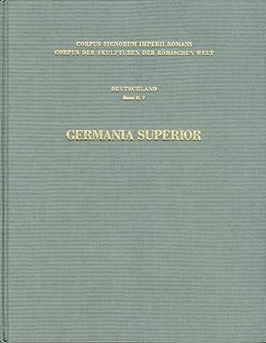 Corpus signorum imperii romani. Corpus der skulpturem der romischen welt. Germania Superior.: ...