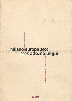Milano Europa 2000. Anteprima Bovisa. Catalogo della mostra.