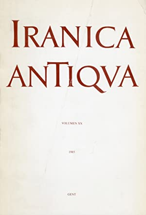 Iranica Antiqua. Volumen XX.