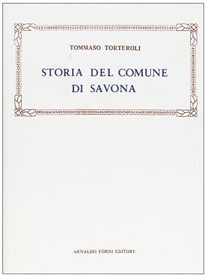 Torteroli Tommaso: Storia del comune di Savona (1849).: Torteroli, Tommaso