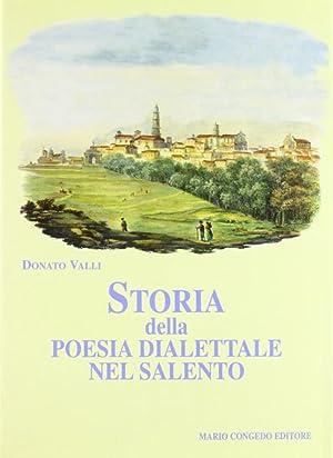 Storia della poesia dialettale nel Salento.: Valli, Donato