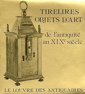 Tirelires Objets d'Art De l'Antiquitè Au XIX Siècle.