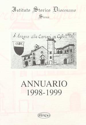 Annuario dell'Istituto storico diocesano di Siena (1998-99).