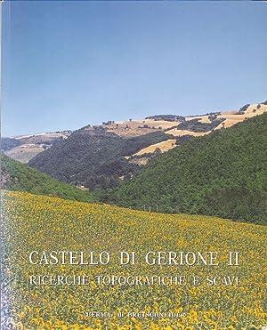 Castello di Gerione II. Ricerche Topografiche e