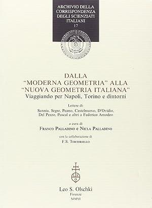 """Dalla """"Moderna geometria"""" alla """"Nuova geometria italiana""""."""