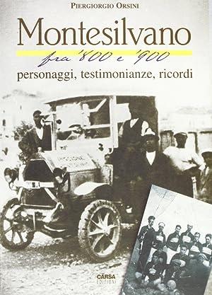 Montesilvano fra '800 e '900. Personaggi, testimonianze, ricordi.: Orsini, Piergiorgio