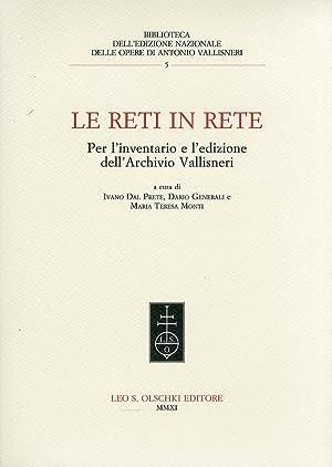 Le reti in rete. Per l'inventario e l'edizione dell'Archivio Vallisneri.