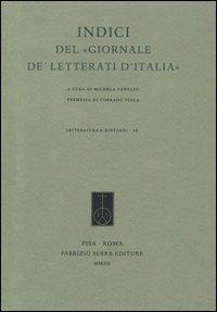 """Indici del """"Giornale de' Letterati d'Italia"""". Con DVD."""