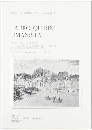 Lauro Quirini umanista.: AA.VV