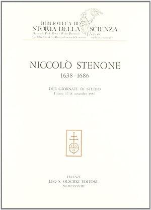 Niccolò Stenone (1638-1686). Due giornate di studio (Firenze, 17-18 novembre 1986).: AA.VV