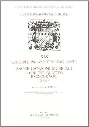 Sacre canzoni musicali a due, tre, quattro e cinque voci (1631).: Palazzotto Tagliavia, Giuseppe