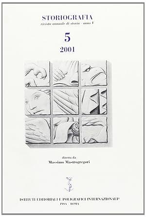 Storiografia. 5, 2001.