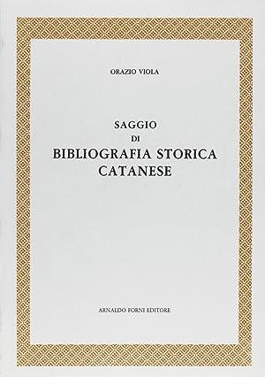 Bibliografia Storica Catanese.: Viola, Orazio