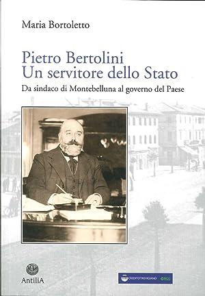 Pietro Bertolini. Un Servitore dello Stato. Da Sindaco di Montebelluna al Governo del Paese.: ...