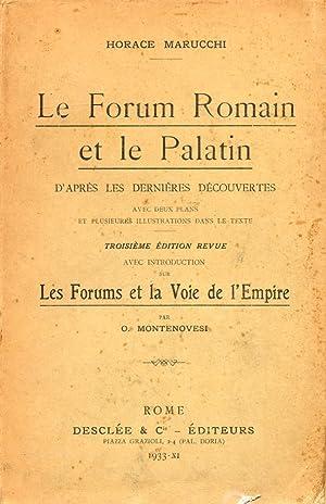 Le Forum Romain et le Palatin. D'Après: Marucchi, Horace