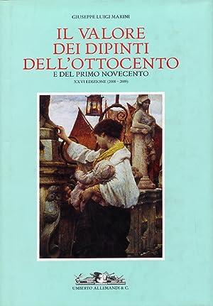 Il valore dei dipinti dell'Ottocento e del primo Novecento. XXVI (2008-2009).: Marini, ...
