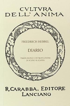 Diario.: Hebbel, Friedrich