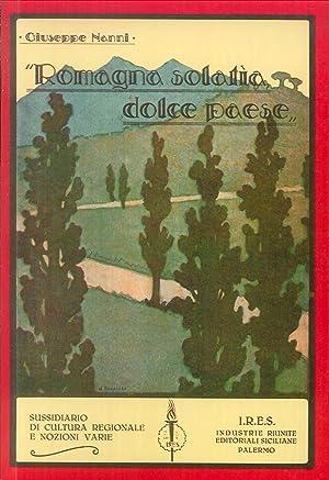 Romagna solatìa, dolce paese.: Nanni, Giuseppe