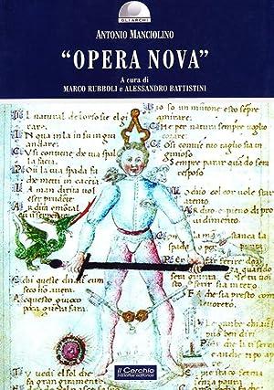 """""""Opera Nova"""".: Manciolino, Antonio"""
