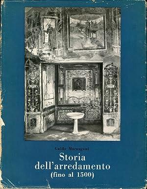 Storia dell'Arredamento (Fino al 1500): Marangoni, Guido