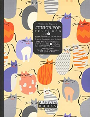 Junior Pop Textures Vol.1. Visual Research For Artists. 200 Modular Patterns With 1 Free CD.: ...