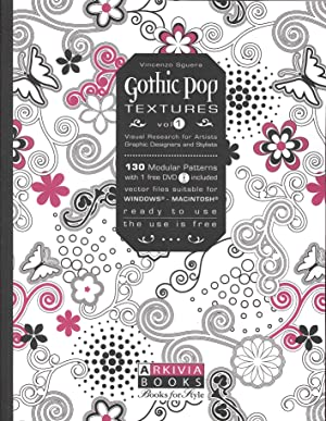 Gothic Pop Textures Vol.1. Visual Research For Artistis Graphic Designers and Stylists. 130 Modular...