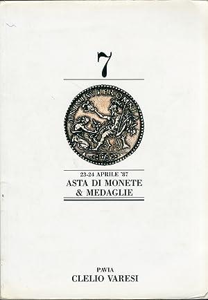 Asta di Monete e Medaglie. Romane, Italiane,