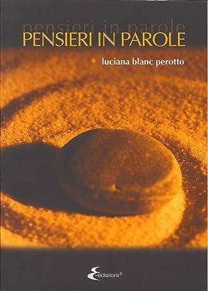 Pensieri in Parole.: Blanc Perotto, Luciana