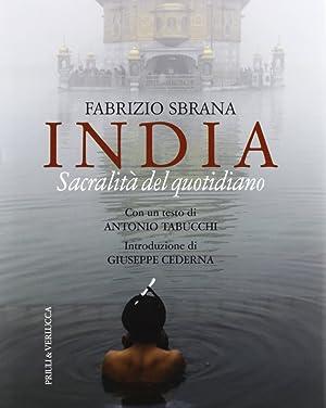 India. Sacralità del quotidiano.: Sbrana, Fabrizio
