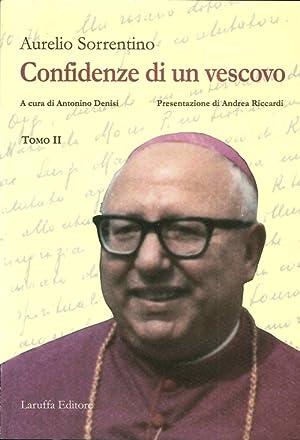 Confidenze di un vescovo.: Sorrentino, Aurelio