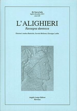 L'Alighieri. Rassegna Dantesca. Vol. 38.: aa.vv.
